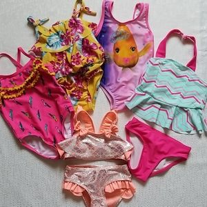 Other - Toddler girl's bathing suit bundle